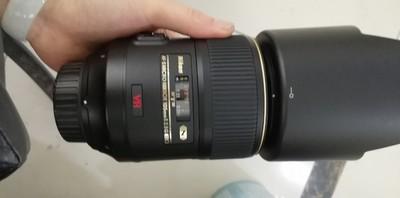 出一支成色非常新的尼康 AF-S VR105mm f/2.8G IF-ED