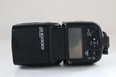 95新二手 Canon佳能 430EX III -RT 闪光灯 三代 回收401121成