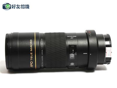 美能达 AF 200mm F/4 APO G 微距镜头 索尼Alpha用 *95新*