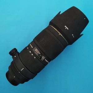 尼康口适马小黑四代APO 70-200mm f/2.8 II EX DG MACRO HSM