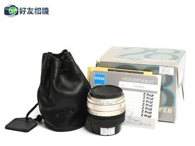 康泰时/Contax G Biogon 28mm F/2.8 镜头 G1 G2用 *99新连盒*