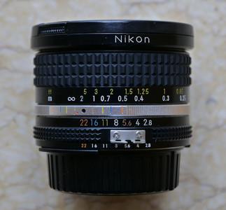 尼康 20mm定焦手动超广角镜头