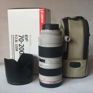 自用佳能 EF 70-200mm f/2.8L USM(小白)