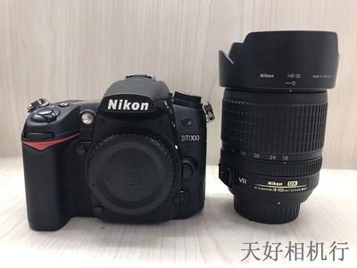 《天津天好》相机行 97新 尼康D7000+18-105套机