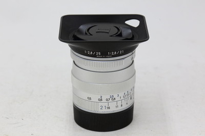 【情迷海印店】蔡司 Biogon 21/2.8 ZM 银(NO:2149)送遮光罩及UV