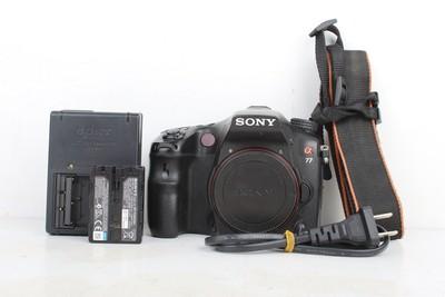 93新二手Sony/索尼 A77 数码相机 回收468318京