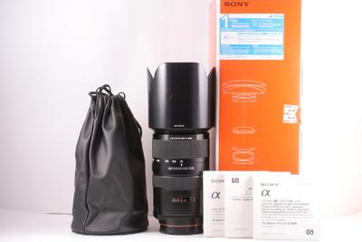 95/索尼 70-300mm f/4.5-5.6G SSM 成色极新 ( 全套包装 )