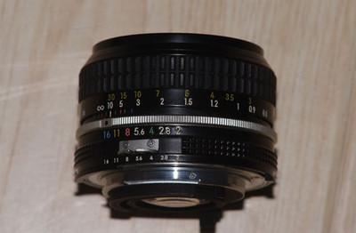AI 尼克尔 50mm f/2