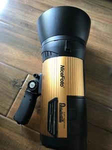 600W外拍灯耐思NiceFoto无线外拍灯闪光灯Hs600C