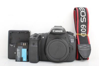 95新二手Canon佳能 60D 单机 中端单反相机高价回收412805京