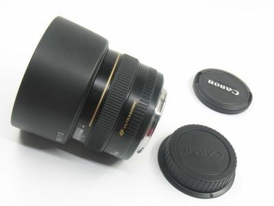 成色很好 佳能EF 50 F1.4 USM 标准人像定焦头 带遮光罩 #2769