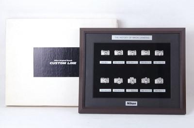 【收藏品】Nikon尼康纪念版胸针套装 带包装jp20563
