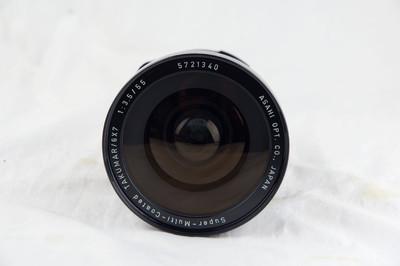 宾得67用 SMC 55 F3.5 广角镜头 极美品好成色