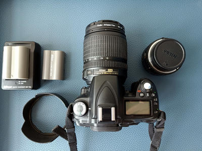自用尼康D90 18-105套机加50mm1.8D标头