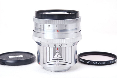 蔡司Biotar 75/1.5 75mm 1.5大B一代瘦版Exa口jp20597