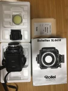 Rolleiflex SL66 SE套机