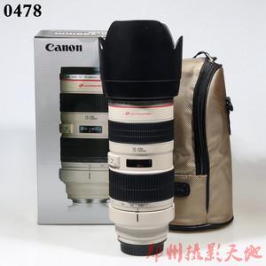 佳能 EF 70-200mm f/2.8L USM(小白) 单反镜头 0478
