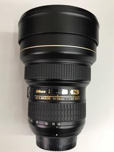 尼康 AF-S 尼克尔 14-24mm f/2.8G ED 专业镜头 天津福润相机行