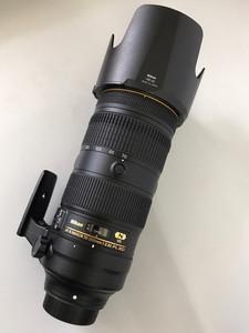 新款尼康电磁炮防抖镜头 AF-S 尼克尔 70-200mm f/2.8E FL ED VR