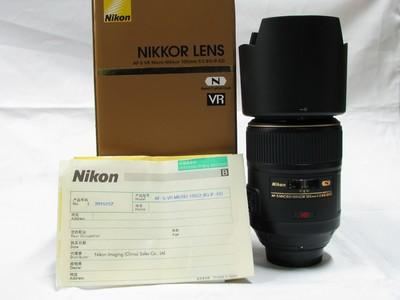 尼康 AF-S VR105mm f/2.8G IF-ED99新原包装齐全