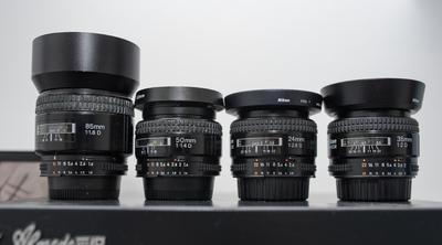尼康 AF 50mm f/1.4D 尼康 AF 35mm f/2D