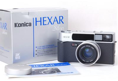 柯尼卡 Hexar AF 35/2 silver 银色小旁轴#jp20632