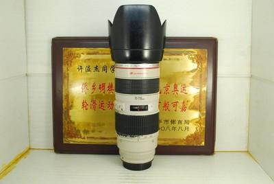 佳能 70-200 F2.8L 小白 单反镜头 专业红圈 恒圈 长焦户外人像