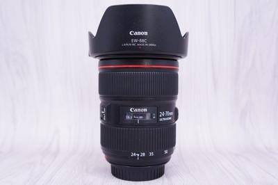 96新 佳能EF 24-70mm f/2.8L II USM 镜头 佳能24-70/2.8二代