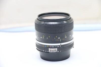 90新二手Nikon尼康 35/2 单反镜头AI版 高价回收887596深