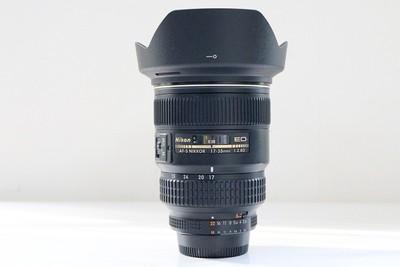 95新二手 Nikon尼康 17-35/2.8 D ED 金广角回收 217416成
