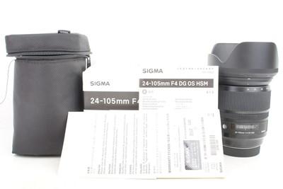 97新二手 Sigma适马 24-105/4 DG OS ART 佳能口回收 461564京