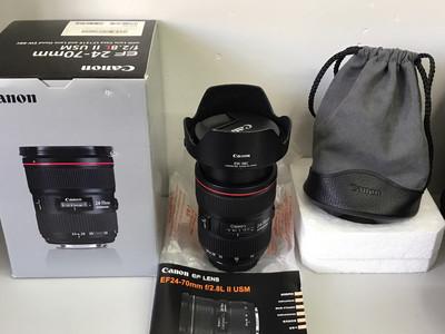 佳能二代专业红圈镜头 EF 24-70mm f/2.8L II USM 2代