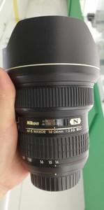 出一支成色非常新的尼康 AF-S 尼克尔 14-24mm f/2.8G ED