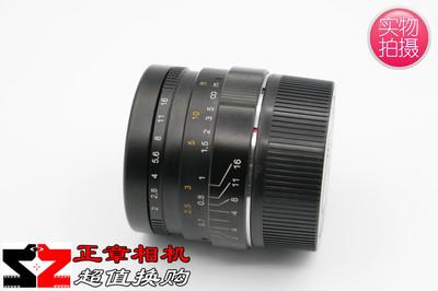 七工匠 7artisans 35mm/F 2 M卡口 大光圈定焦镜头 35/2 99新带盒