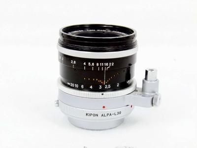 华瑞摄影器材-阿尔帕 KERN MACRO  50/1.8 带L39接环
