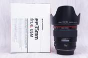 98新 佳能 EF 35mm f/1.4L USM镜头35/1.4