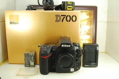 尼康 D700 全画幅 数码单反相机 千万像素 专业高端 金属机身