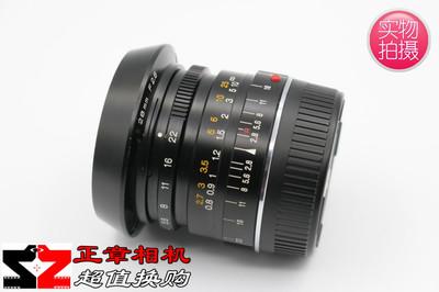 Minolta/美能达 M 28mm/F2.8 手动广角定焦镜头 28/2 M卡口