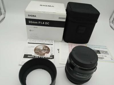 适马 30mm f/1.4 DC HSM(A)(佳能口)