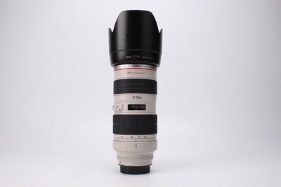 93新二手Canon佳能 70-200/2.8 L 小白变焦镜头 回收 021169津