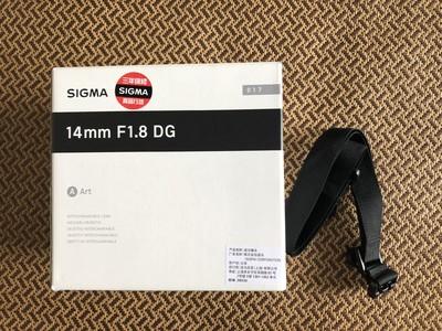适马14mm f/1.8 DG Art(佳能口)