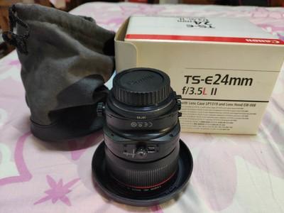 佳能TS-E24mmf3.5L2代移轴·