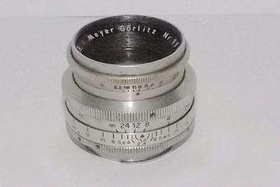 【中古镜头小店】德国梅耶 Meyer Gorlitz 58mm F1.9二战V膜版