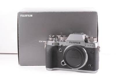 99/富士 X-T2 微单相机 碳晶灰限量版 ( 全套包装 )