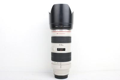 93新二手Canon佳能 70-200/2.8 L 小白变焦镜头回收 072943京
