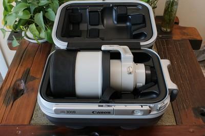 96新二手 Canon佳能 300/2.8 L IS II USM二代防抖回收 000051武