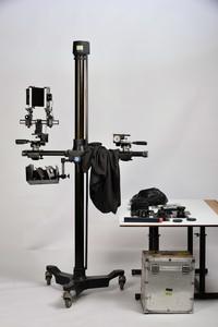 座机及镜头和其他配件 三脚架.箱子