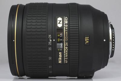 【全画幅标准变焦镜头】尼康24-120/4G VR(NO:0330)*