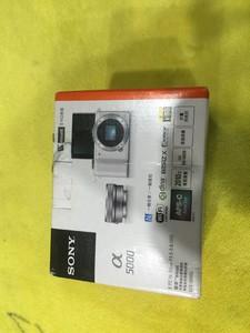 索尼ILCE-5000L APS-C微单单镜套机 白色