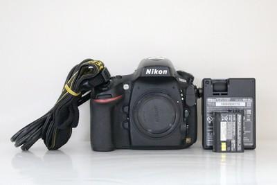 95新二手Nikon尼康 D800E 单机 快门4700次 回收 800429成